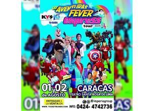 "Musical infantil ""Aventuras Fever Express"" inicio gira por todo el país"
