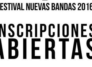 Ya están abiertas las inscripciones para el Festival Nuevas Bandas 2016