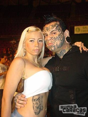 Mithos Tatto on Gente   Rumbacaracas   Endora Y Emilio De Mithos Tatoo