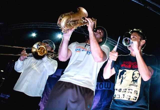 El Unión Rock Show se apodero de la Plaza Alfredo Sadel