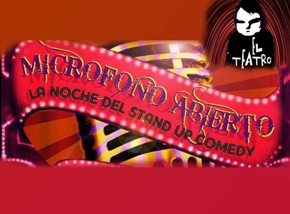 Micrófono Abierto Teatro bar