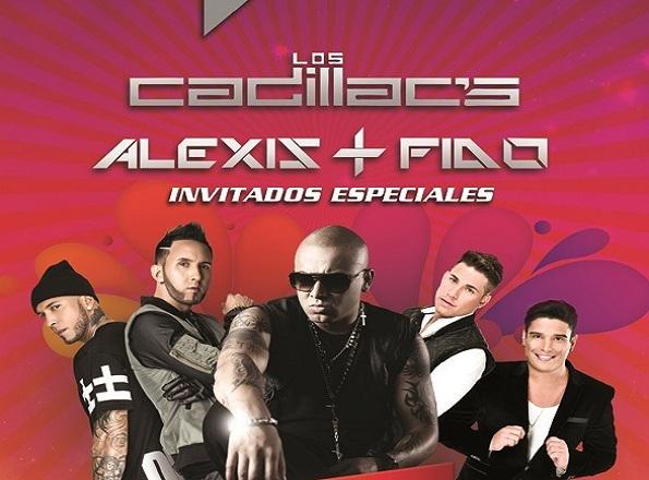 Wisin, Los Cadillacs y Alexis y Fido en el CCCT