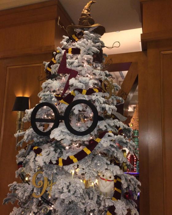 8 fabulosos árboles de Navidad inspirados en películas