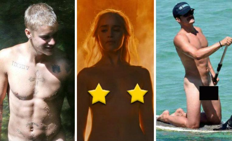 Mira los desnudos más sensuales de los famosos en 2016