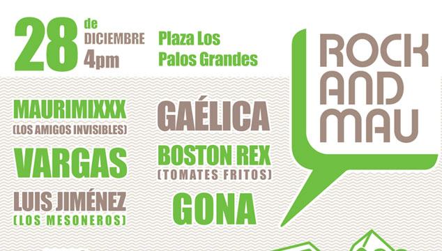 Este miércoles 28 de Diciembre habrá Rock and Mau gratis en Caracas