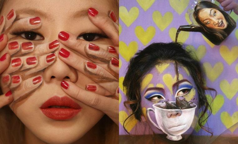[Top 10] Ilusiones ópticas hechas únicamente con maquillaje