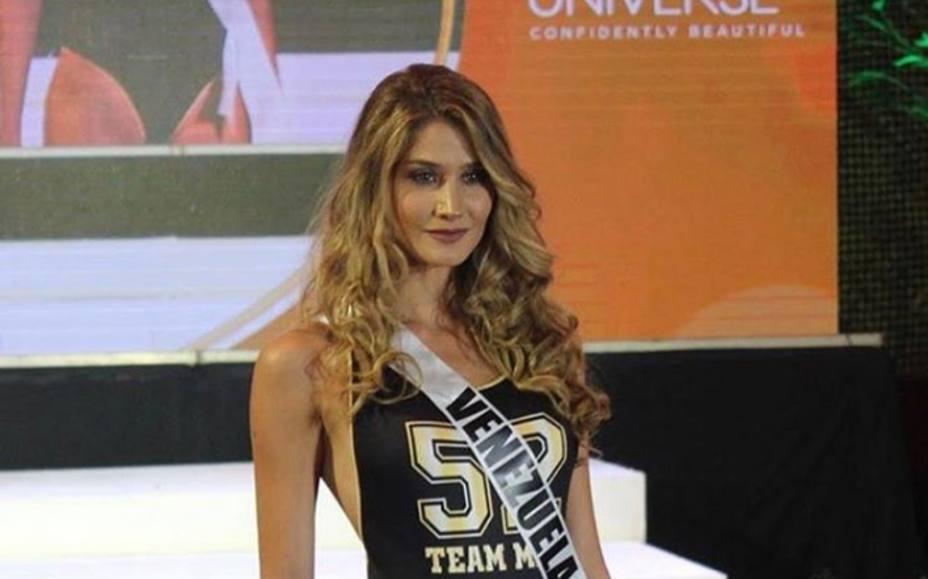 Mariam Habach ganó Mejor Cuerpo en Miss Universo
