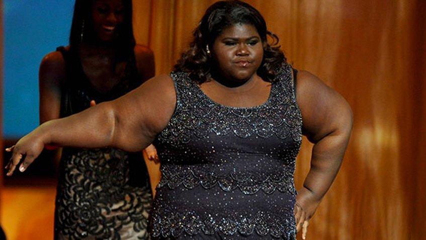 """[Foto] Mira el radical cambio de la protagonista  de """"Precious"""" tras perder 77 kilos"""