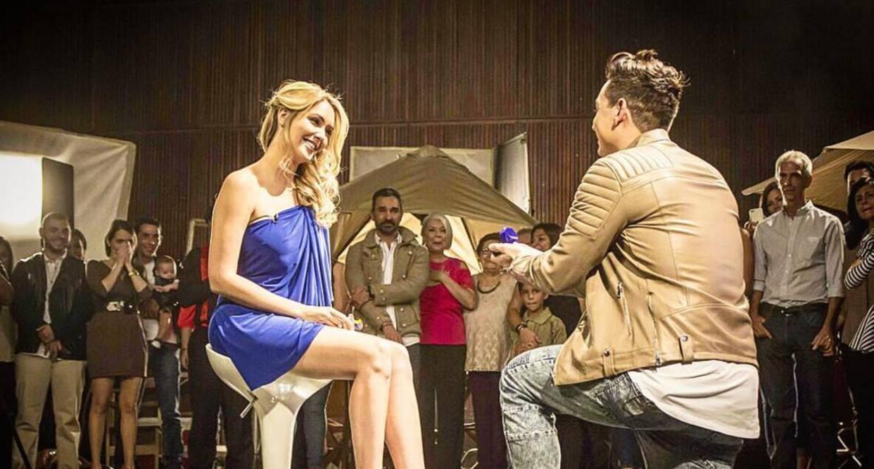 [Video] Así fue la propuesta de matrimonio de Victor Drijaa Blanca Aljibes