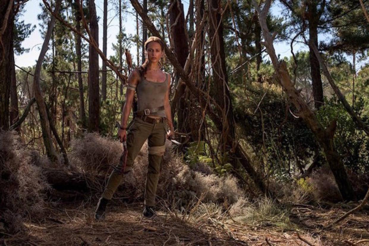 """Estas son  las primeras imágenes de la nueva """"Lara Croft"""""""