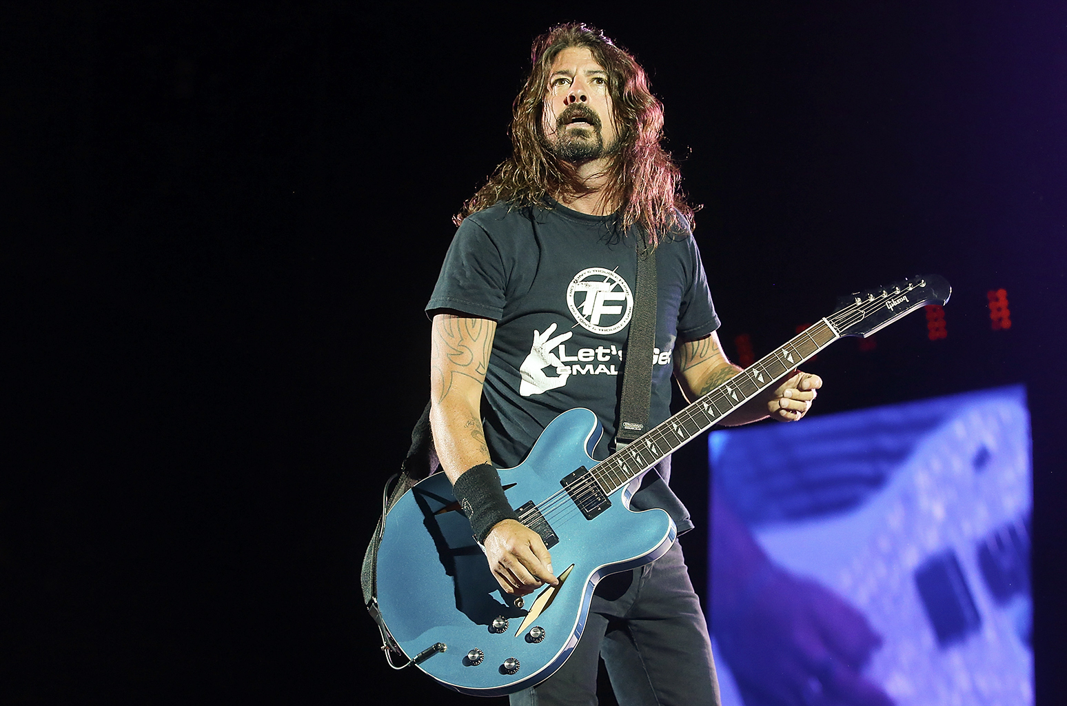 Foo Fighters siguen tocando incluso sin sonido