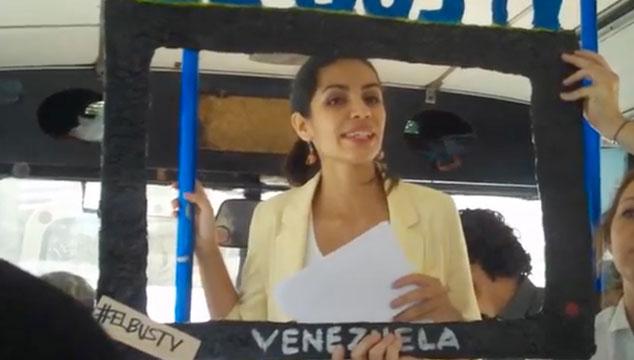 """¿Ya conoces """"El Bus TV? Un nuevo antídoto contra la censura"""