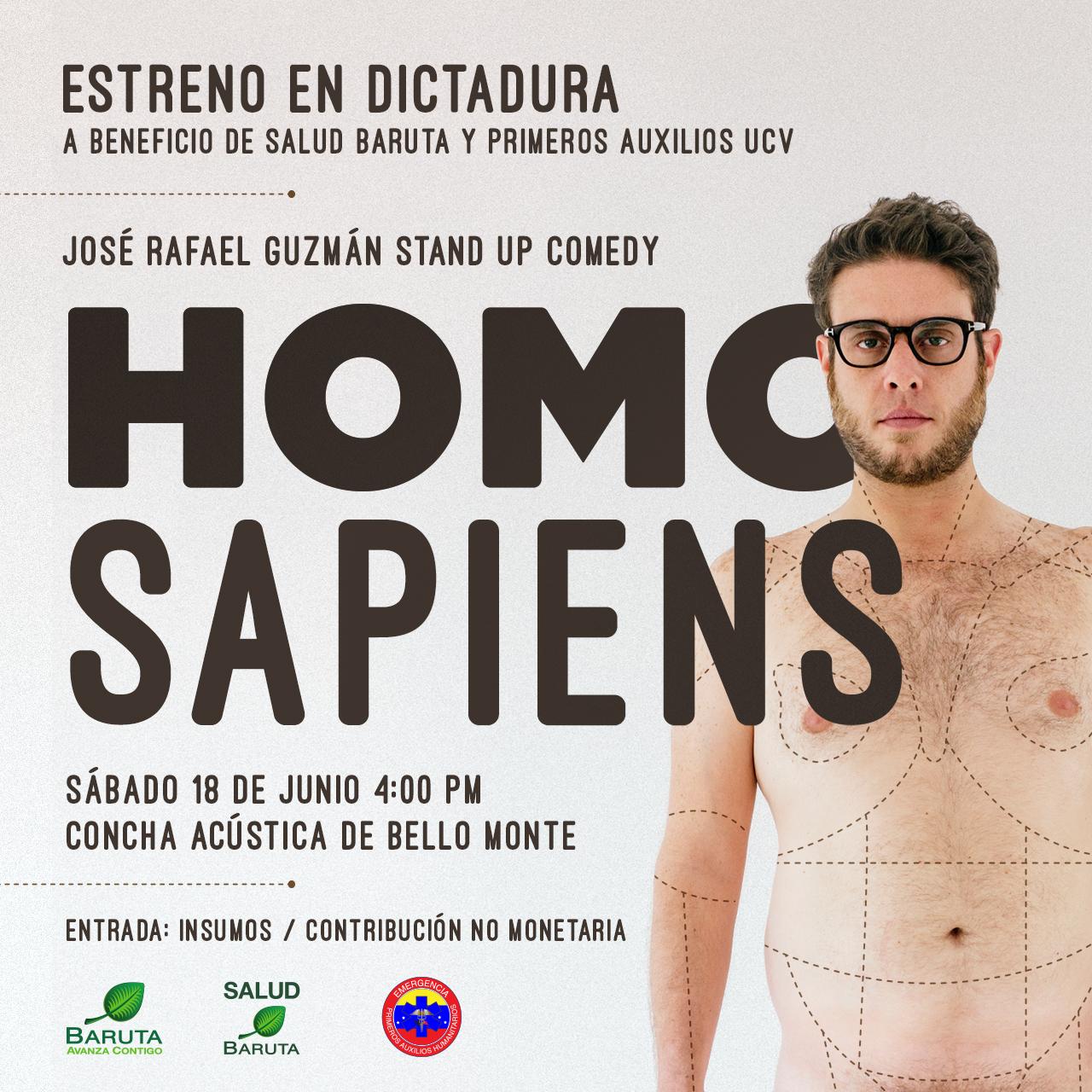 El stand-up benéfico de José Rafael Guzmán