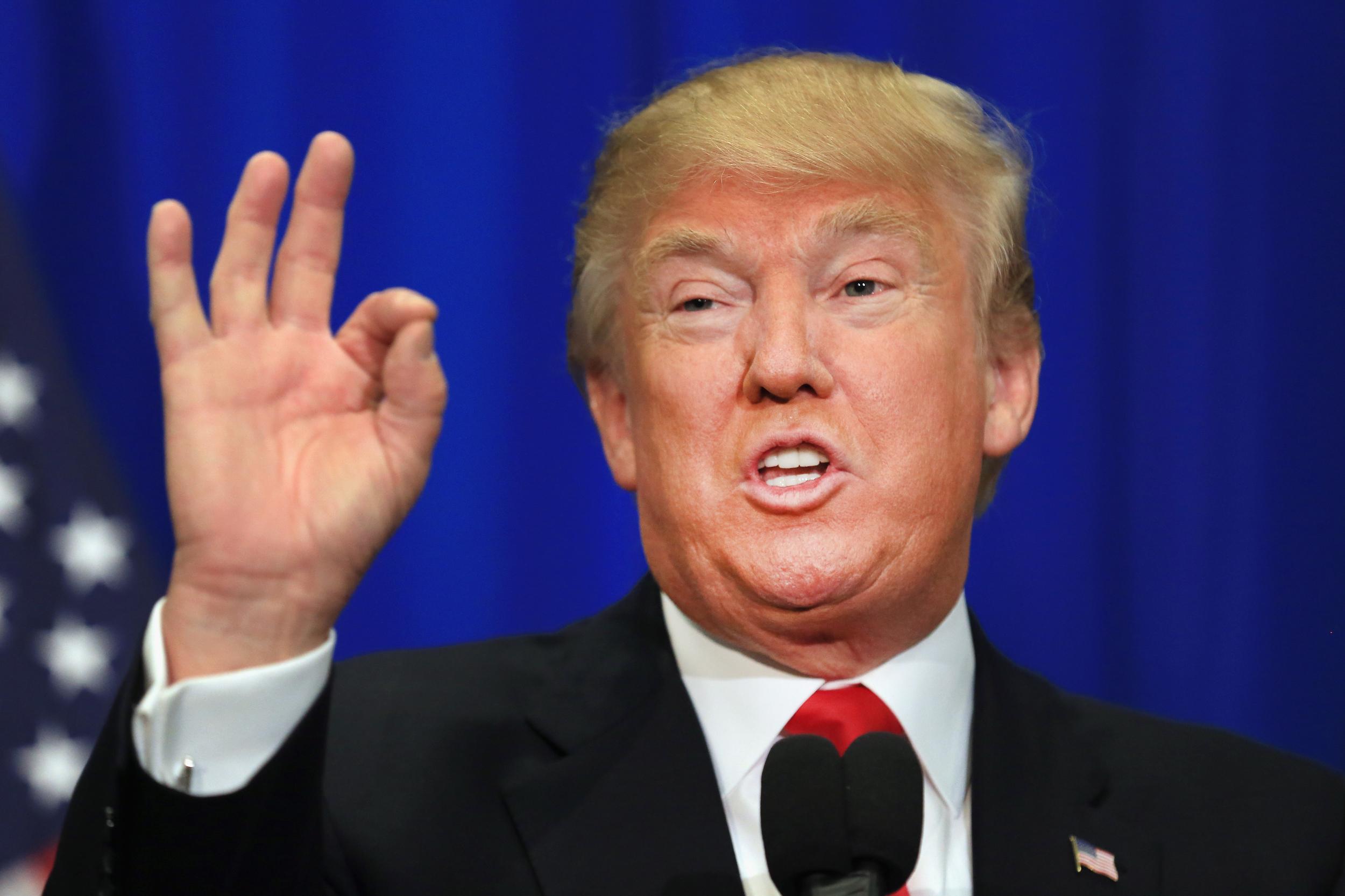 Gollum personifica a Donald Trump