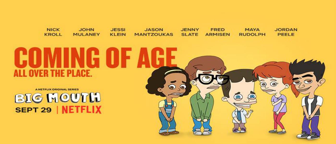 """Mira el primer tráiler de """"big Mouth"""", la absurda serie animada de Netflix"""