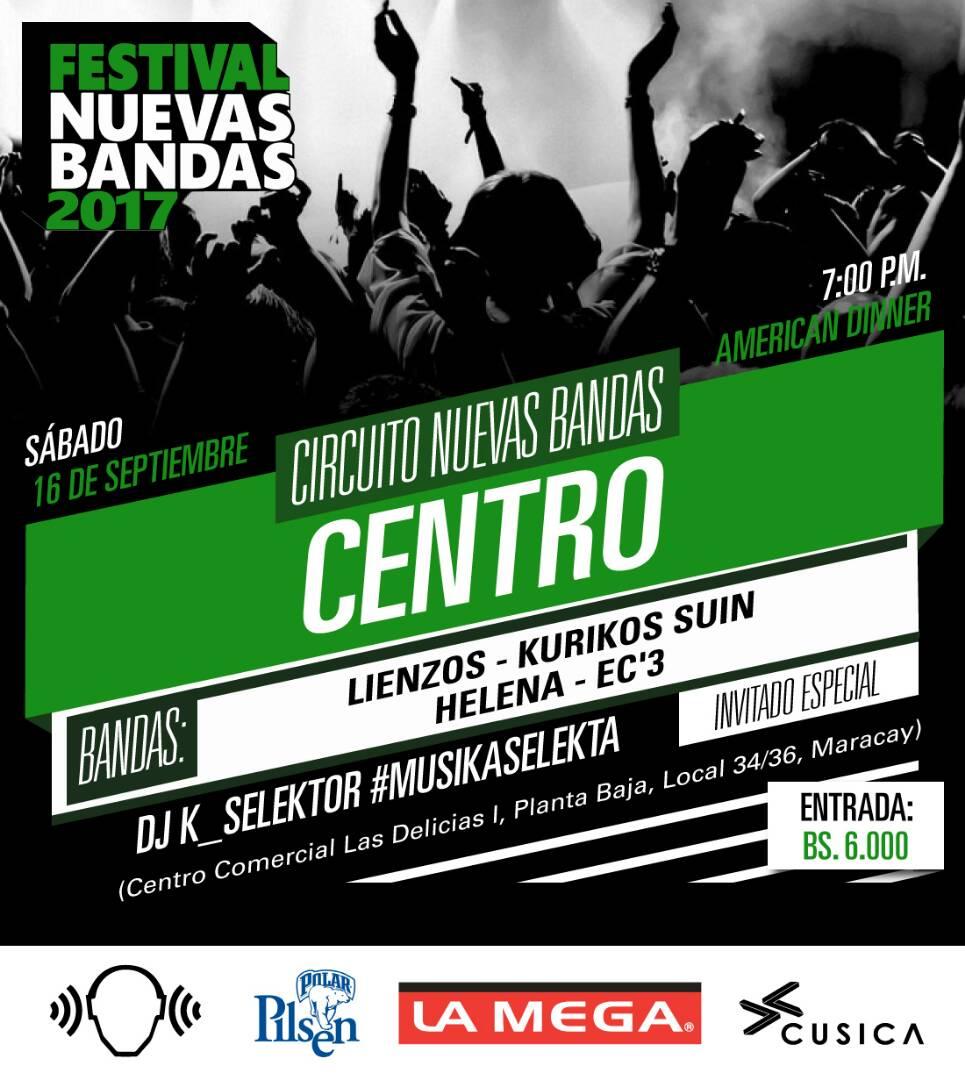 Circuitos Nuevas Bandas 2017 - Invitados Especiales