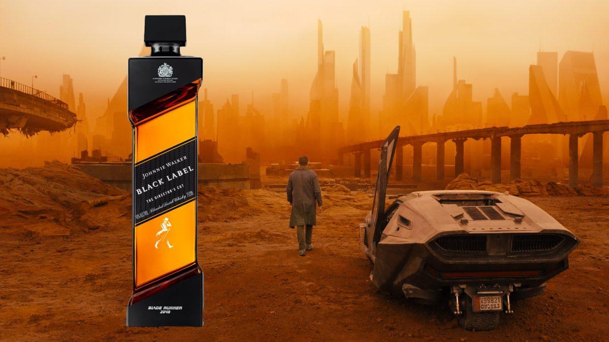 Johnnie Walker lanza edición especial de su whisky de 'Blade Runner 2049'