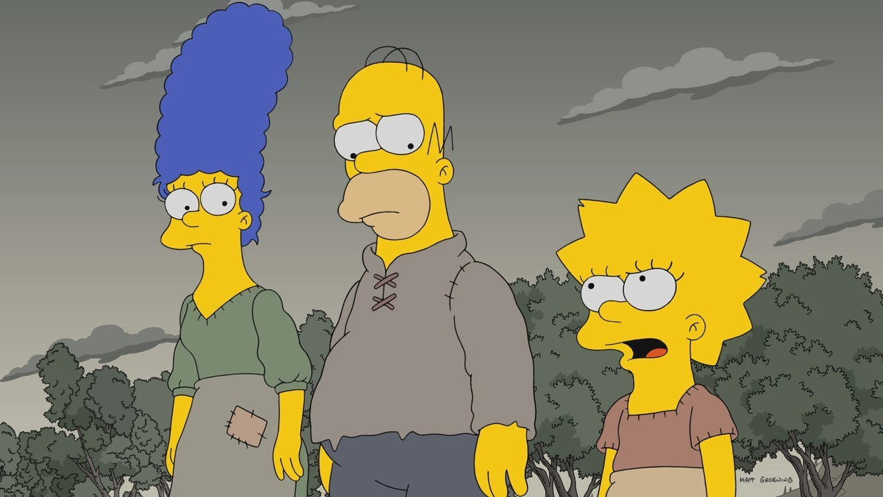 Los Simpsons abrieron su temporada 29 con una parodia a Game of Thrones