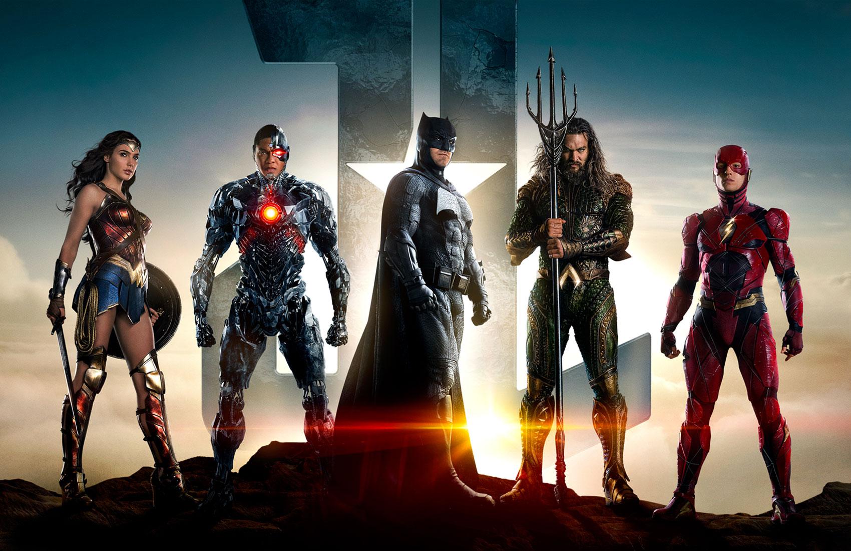 """Mira los nuevos pósters de """"Justice League"""""""
