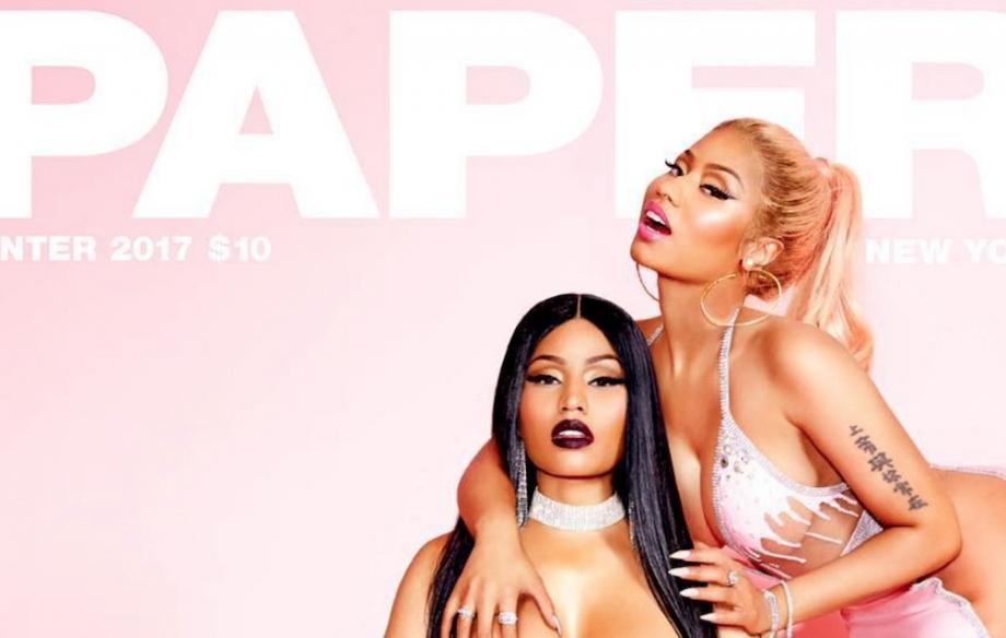 Polémica portada de Nicki Minaj para 'Paper'