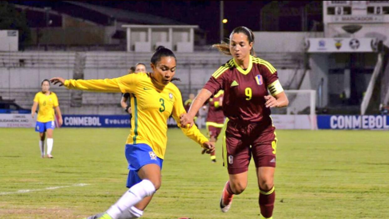 Venezuela perdió ante Brasil en el Suramericano Femenino de Fútbol Sub-20