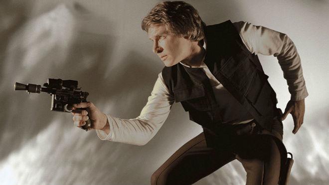 Venden la pistola de Han Solo en 'El Retorno del Jedi' por 550.000 dólares