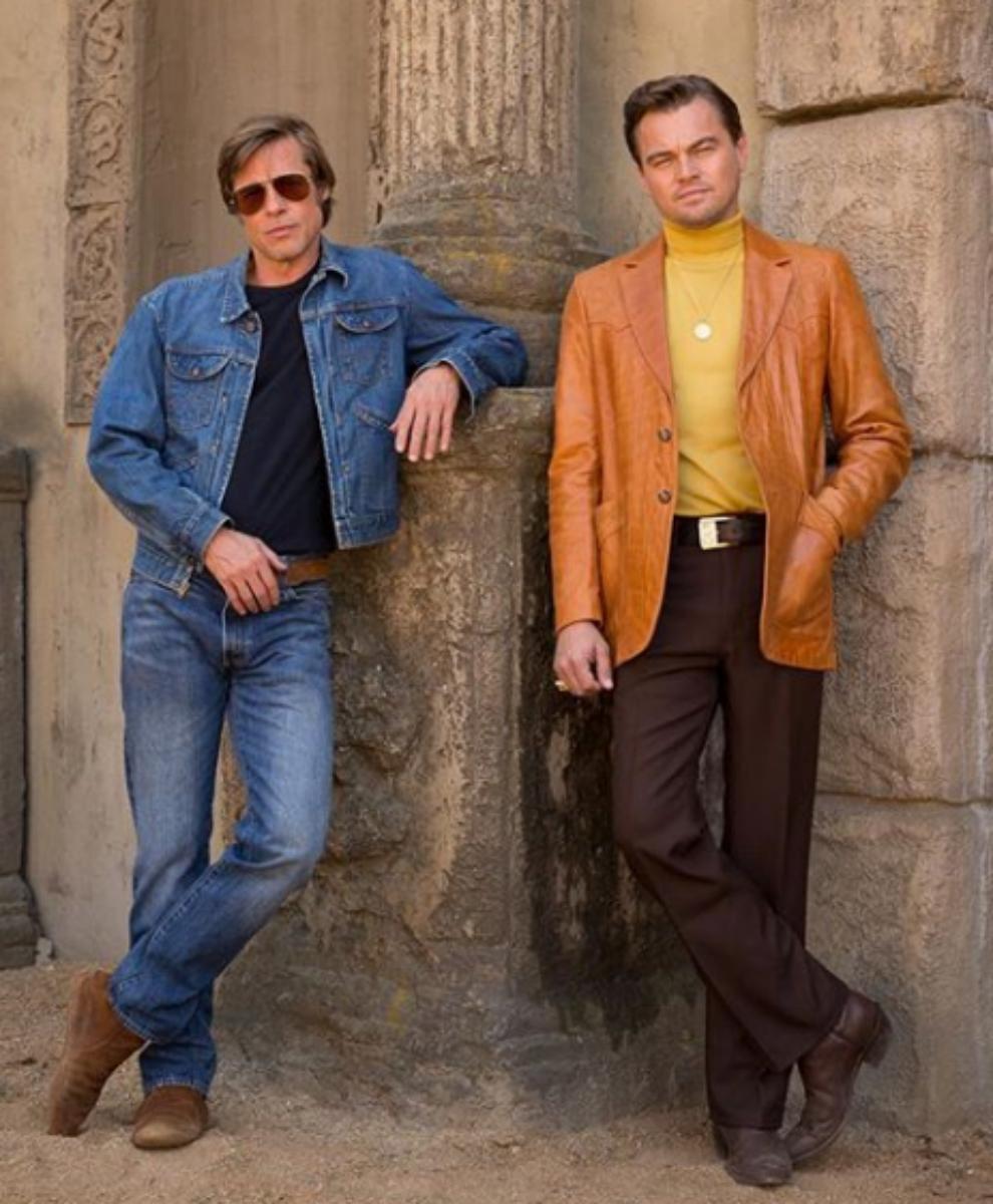 Leonardo DiCaprio y Brad Pitt en lo nuevo de Tarantino