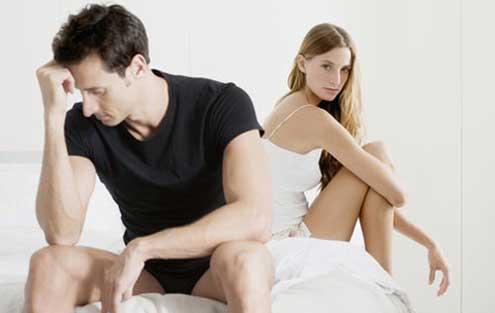 A qué temen los hombres en la cama