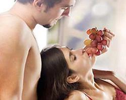 Juegos sensuales con comida