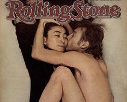 Lennon y Yoko en la portada de la Rolling Stone