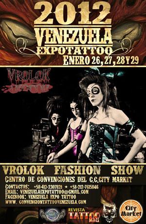 Mithos Tatto on Venezuela Expo Tattoo 2012 Trae A La Mujer Vampiro Desde M  Xico