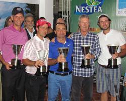 El golf aficionado venezolano se midió en la COPA GOLF CHANNEL 2012