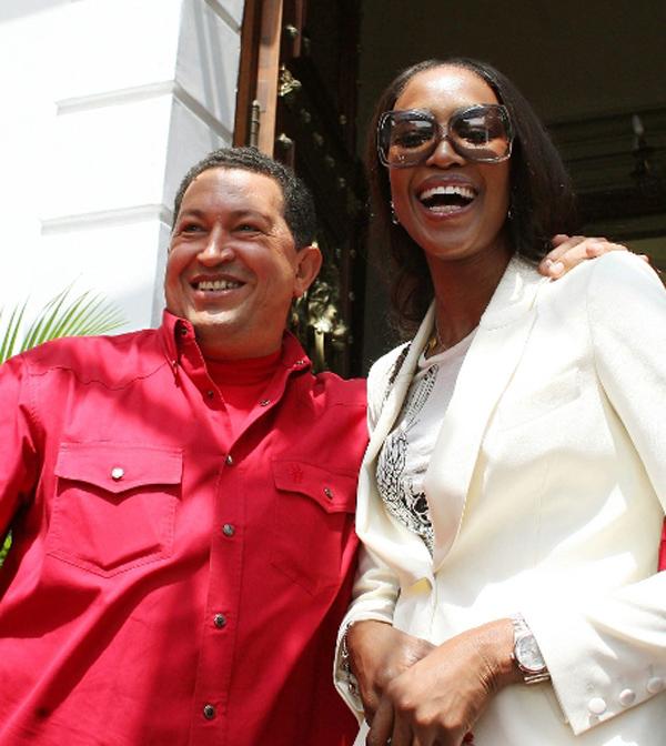 Hugo Chávez y sus amigos famosos (FOTOS)