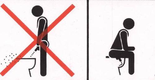 """Tasa De Baño O Inodoro: vertical de urinario o al agua del inodoro provoca un """"contragolpe"""