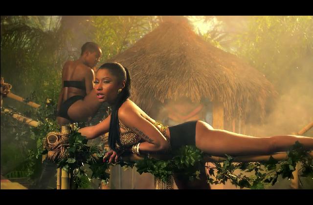 """""""Anaconda"""", el nuevo video de Nicki Minaj lleno de traseros grandes"""