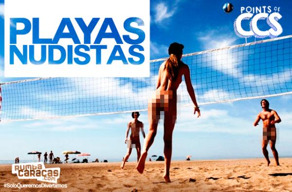 [POINTS DE CCS] Playas Nudistas en Venezuela