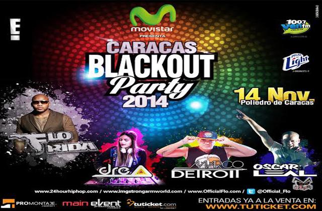 Todo listo para el 'Caracas BlackOut Party 2014'