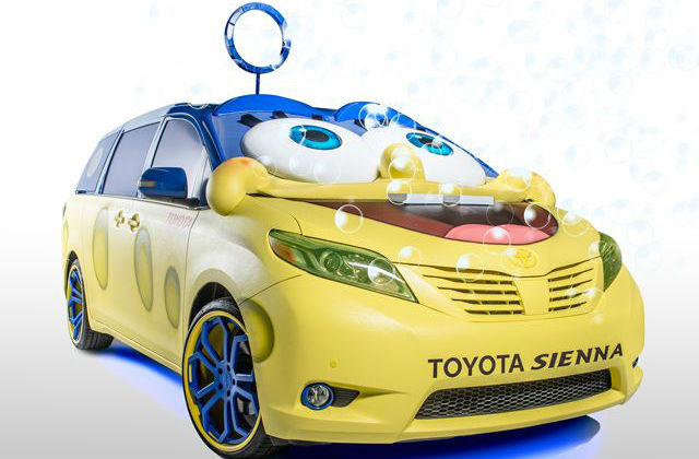Solo para fanáticos: Toyota presenta el carro de Bob Esponja [FOTOS]
