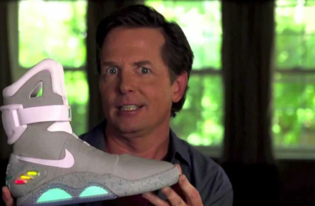 """Este año saldrán a la venta los zapatos de Nike de """"Volver al futuro"""""""