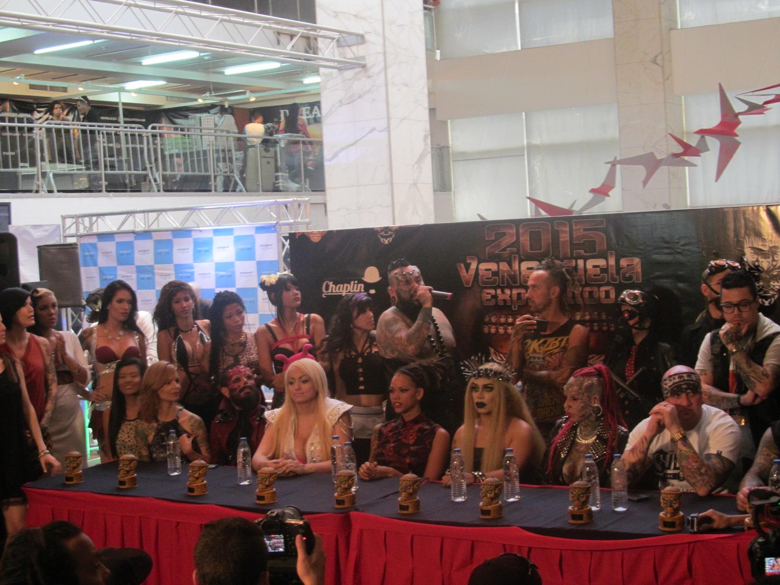 Ya arrancó la Expo Tattoo Venezuela 2015