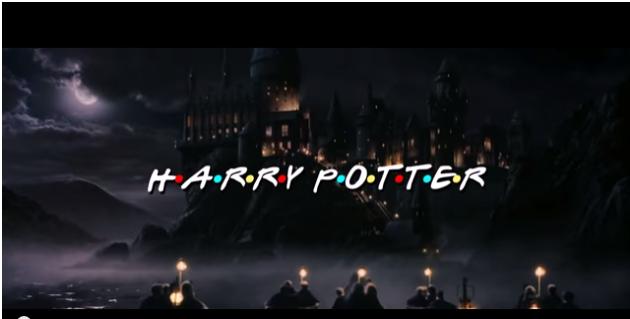 Así sería 'Harry Potter' en versión 'Friends'