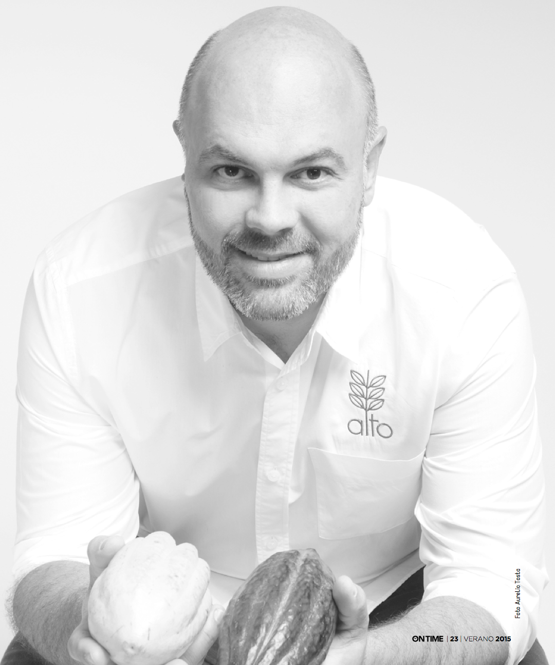 Carlos García y sus exóticos sabores en la nueva edición de On Time
