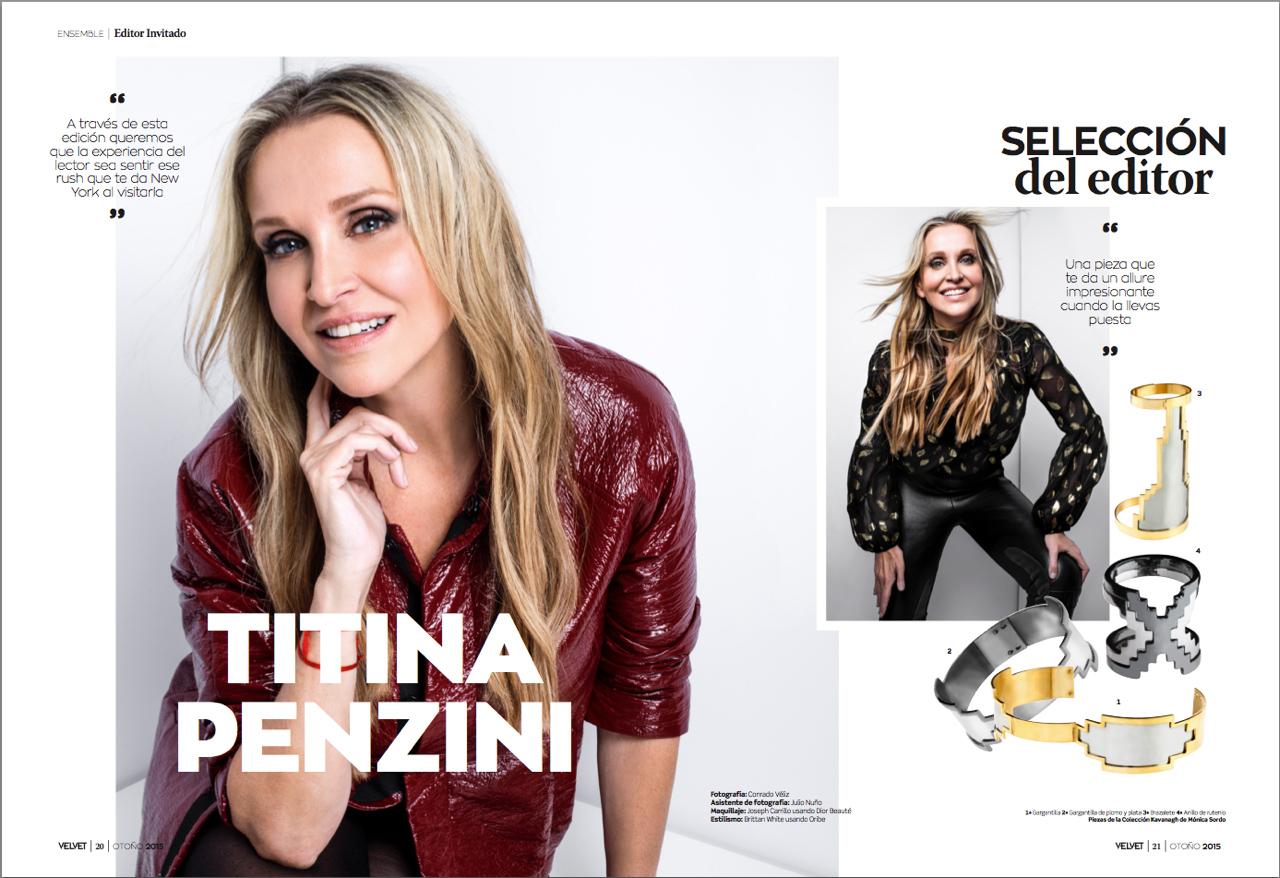 Titina Penzini revela sus secretos neoyorquinos para Velvet