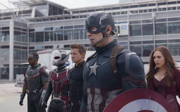 """Nuevo trailer de """"Capitán América: Civil War"""" fue estrenado en el Super Bowl 2016"""