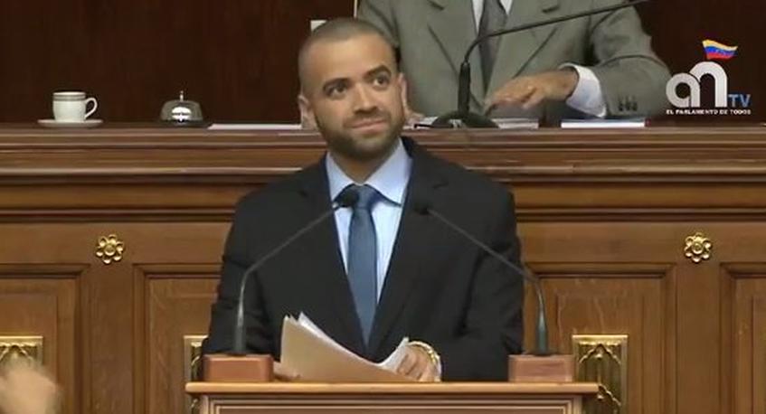 """Así fue el brutal discurso de """"Nacho"""" en la Asamblea Nacional"""