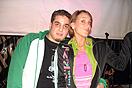 DD Domingo y Sabrina Salvador en la presentación de Rumbacaracas Radio