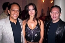 Raúl Ramos, Cristina Andrade y Javier Jiménez