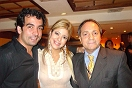 Daniel Carlés, Rebeca Moreno y Enzo Cassela