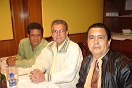 Pedro Yajure, Tony Marrero y Oswaldo Camacaro