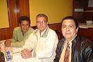 Pedro Yajure, Tony Marrero y Oswaldo Camacaro